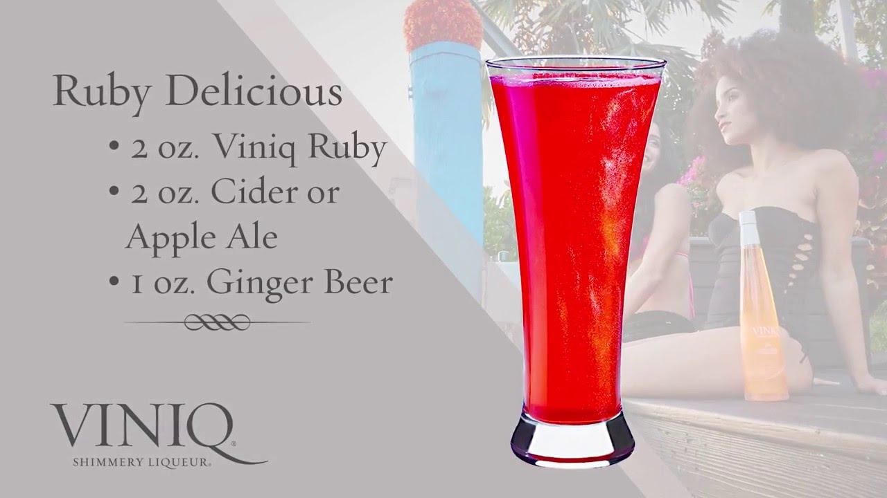 Коктейль Ruby Delicious