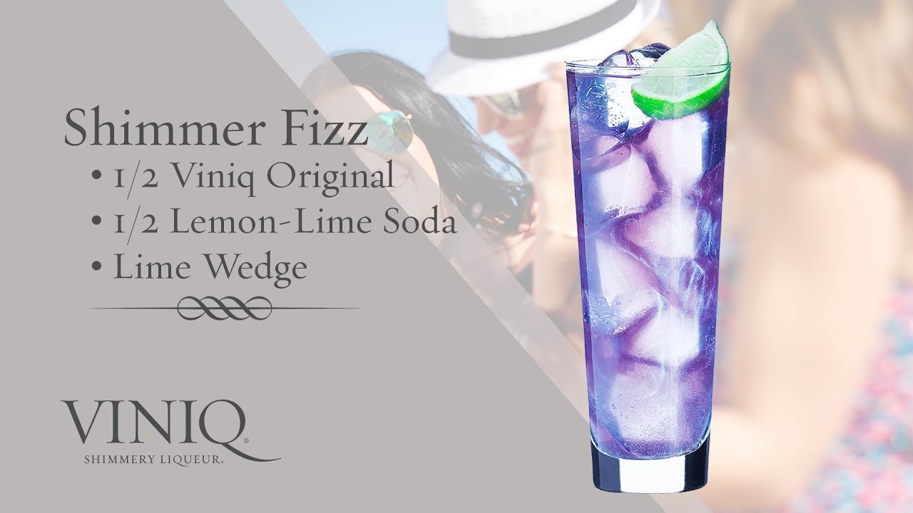 Shimmer Fizz Cocktail