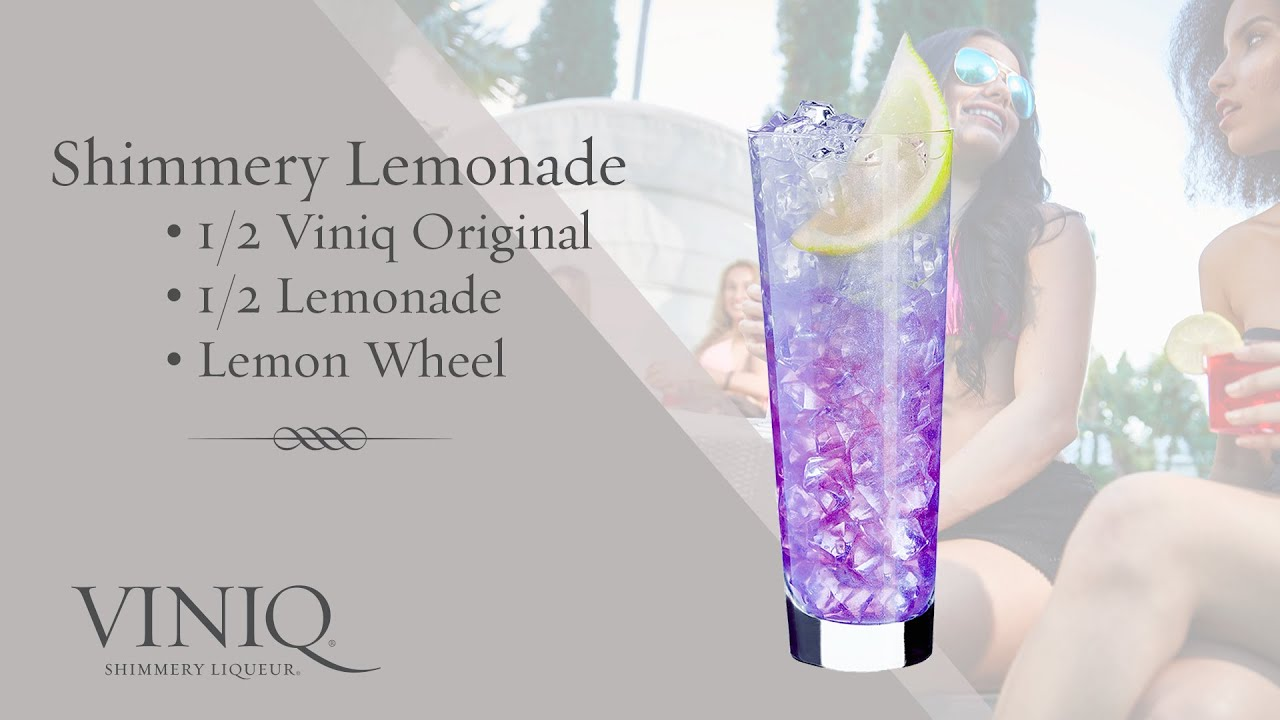 Коктейль Shimmery Lemonade