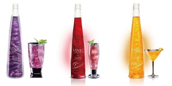 Коктейли с ликёром Виник (Viniq Liqueur)