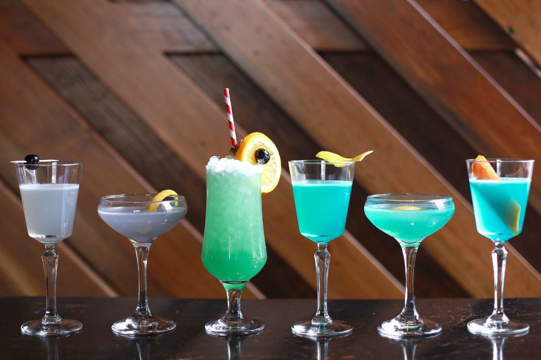 Коктейли с Blue Curacao
