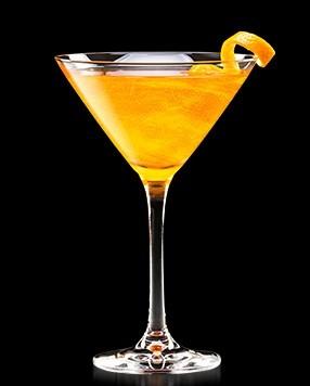 Коктейль Персиковый Манхеттен (Peach Manhattan Cocktail)