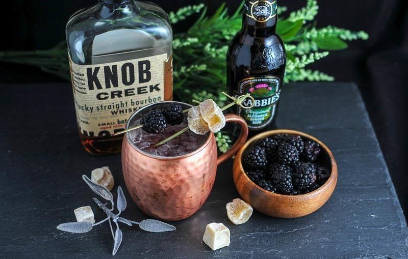 Blackberry Kentucky Mule