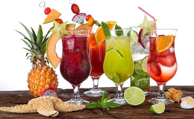 Тропические коктейли