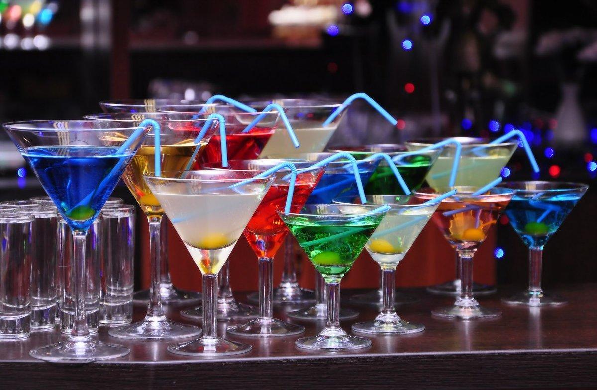 Коктейли с Martini