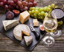 О том как сочетается сыр и вино
