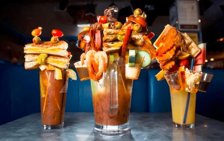 Кулинарные коктейли