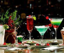 Новогодние и рождественские коктейли
