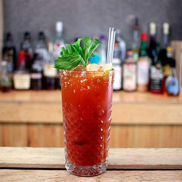 Пивной коктейль Bloody Mary