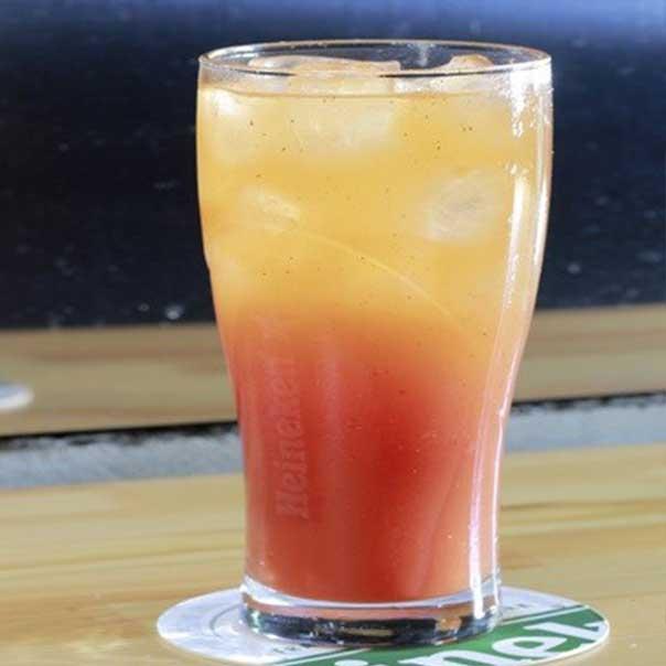 Пивной коктейль Английский малиновый эль