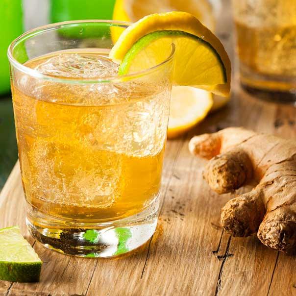 Пивной коктейль Имбирно-цитрусовый эль
